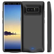 Galaxy Note 8 Battery Case 5500mAh, Vproof Rechargeable External Battery Portable Charger Protective Charging Case Power Bank Cover for Samsung Galaxy Note 8 (Black)